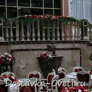 Оформление свадеб цветами, украшение, декорирование столов