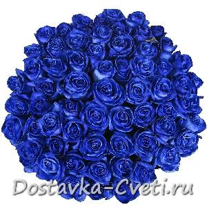 Синие розы ― Цветочный интернет магазин