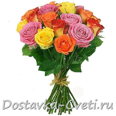 Как выглядит букет из 15 розы