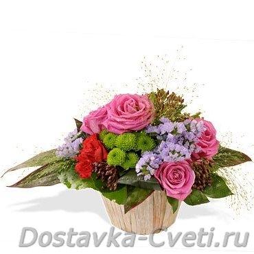 Подмосковные розы из теплицы купить