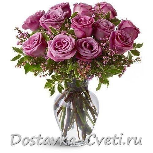 Купить розы с доставкой в москве