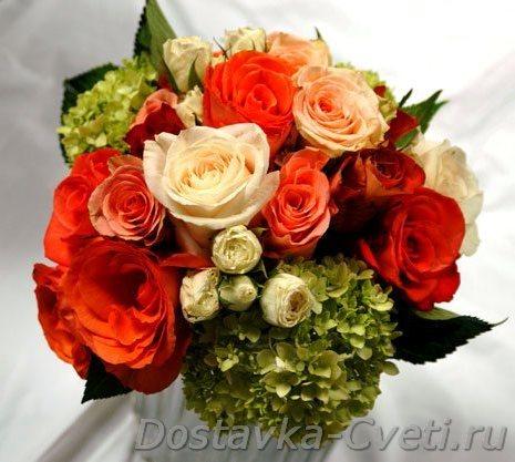 Букеты из цветов заказать дешево