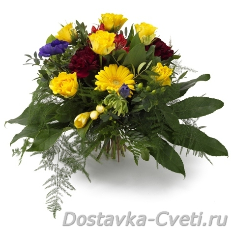 Оформления и букеты из цветов