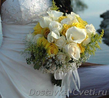 Доставка свадебные букеты москва недорого, виды свадебных букетов