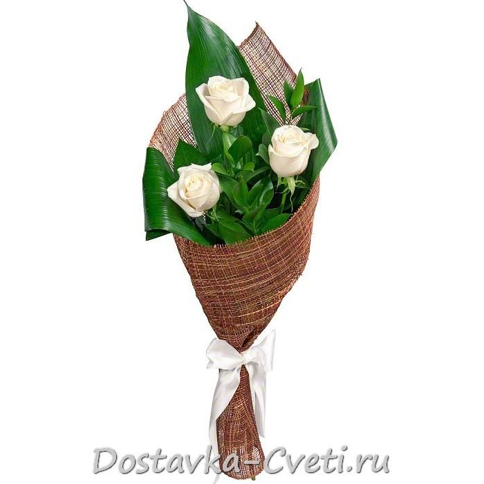 Оформление букета роз своими руками