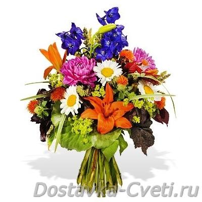 заказ букета цветов через интернет