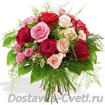 Букет невесты из лилии