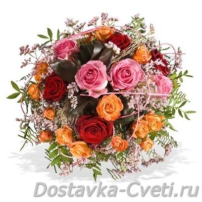заказ цветов в другой город
