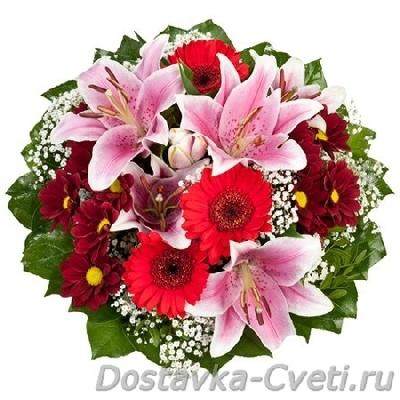 заказ цветы на дом